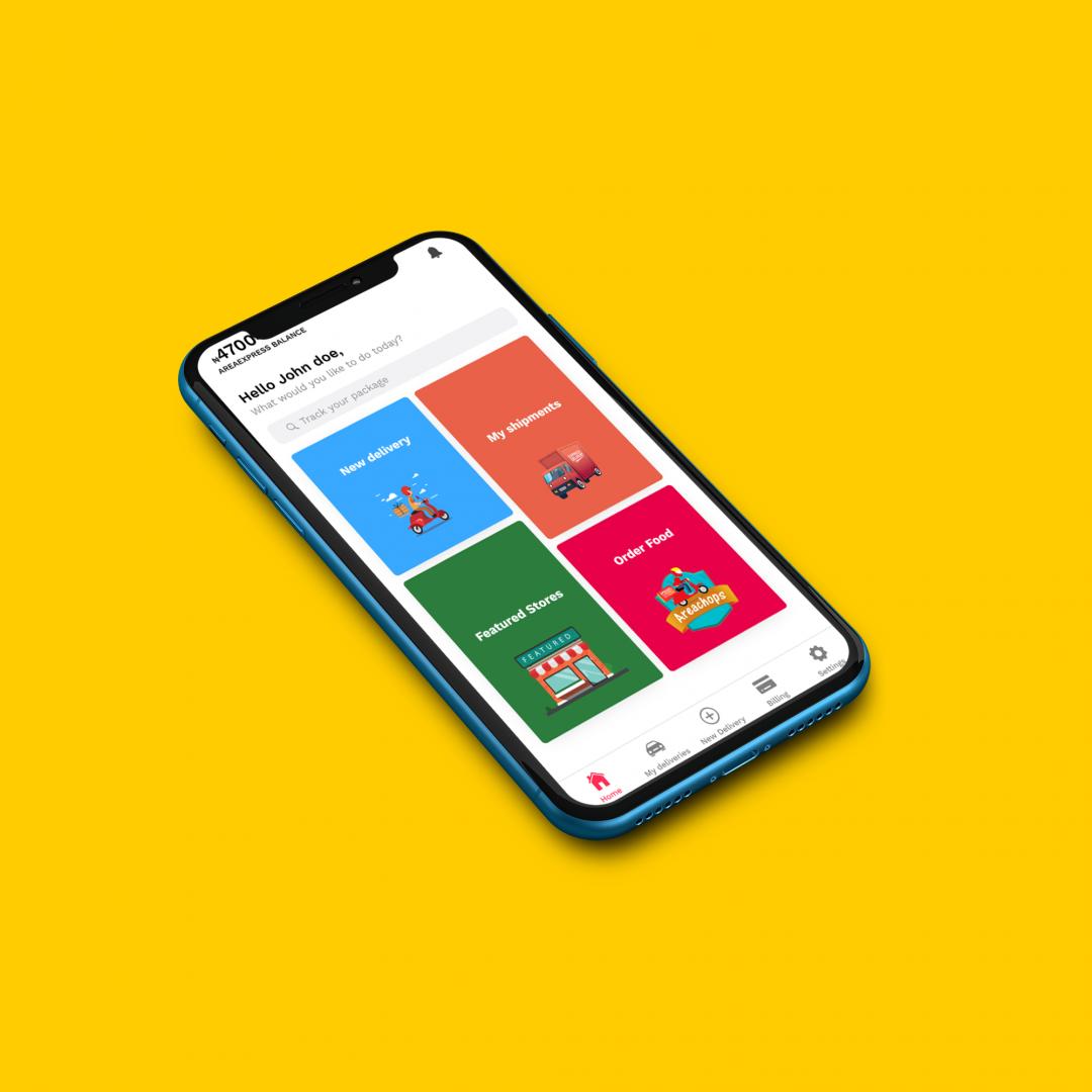 Areaexpress app